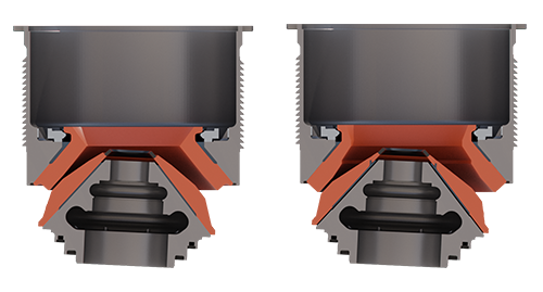 Universal Crushing Chamber on Patriot Cone Crusher | Superior Industries