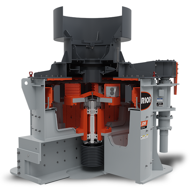 Valor Vertical Shaft Impactor (VSI) Dual Belt-Drive Model | Superior Industries