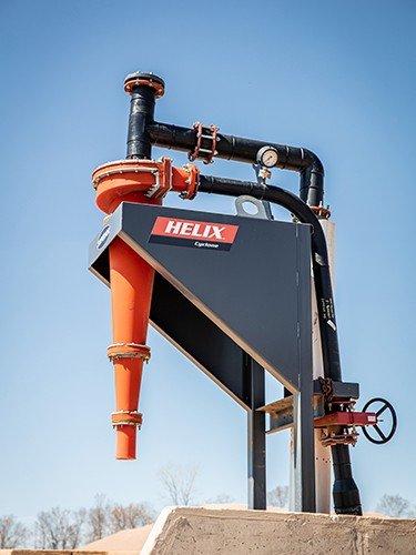 Fines Recovery Model of Helix Cyclone | Superior Industries