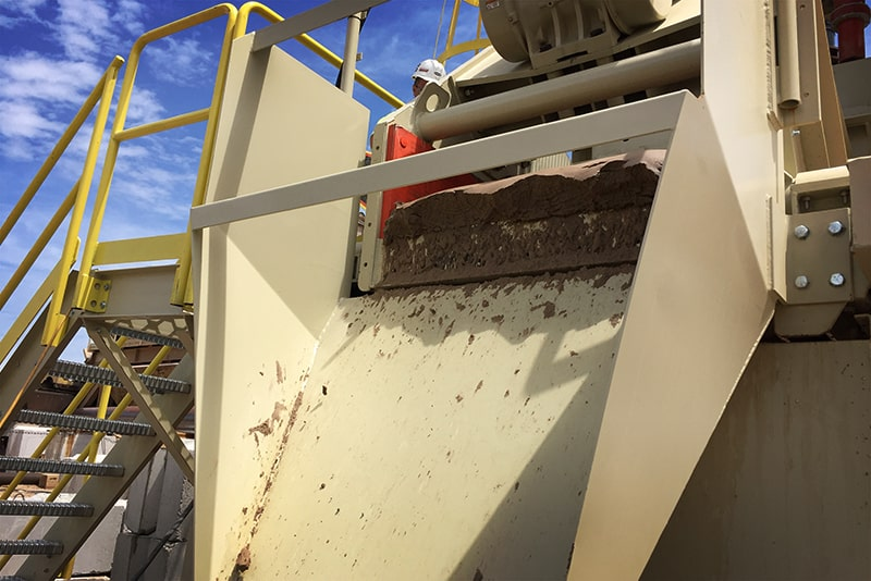 Spirit Sand Plant discharge by Superior Industries