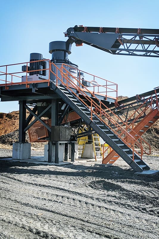 Valor Vertical Shaft Impactor (VSI) | Superior Industries