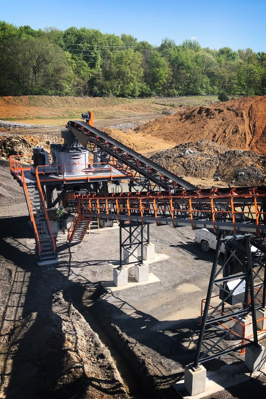 Valor Vertical Shaft Impactor (VSI) at Hoover | Superior Industries