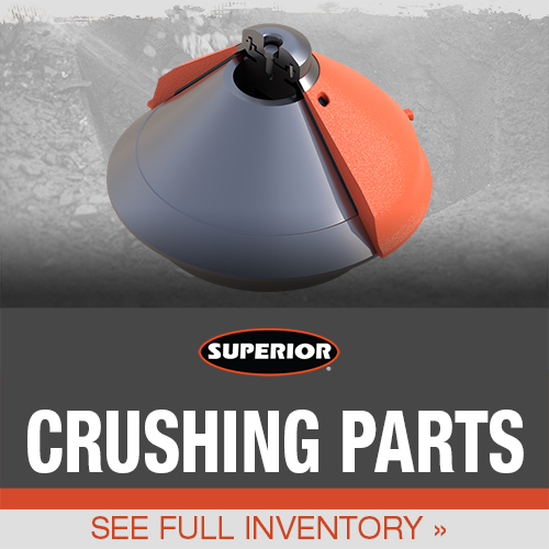 crushing parts by Superior Industries