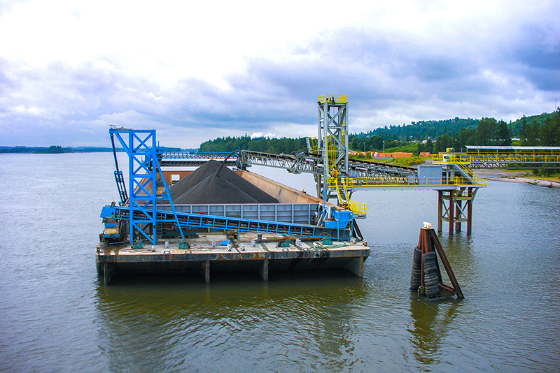Conveying - barge loading - 02 by Superior Industries