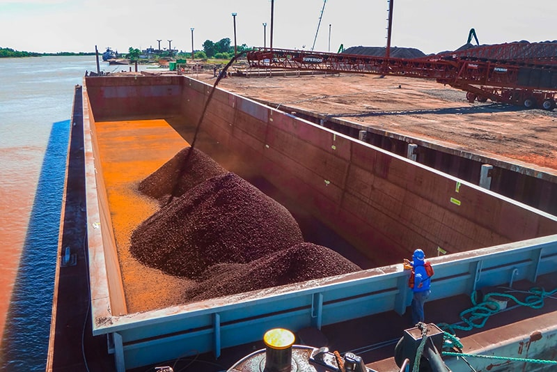 Conveying - barge loading - 05 by Superior Industries