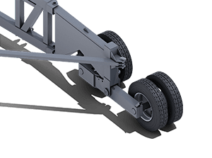 XTP Axle | Pinnacle Conveyor Axle Style