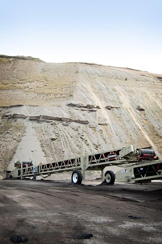 Esteira transportadora Slide-Pac no campo | Superior Industries