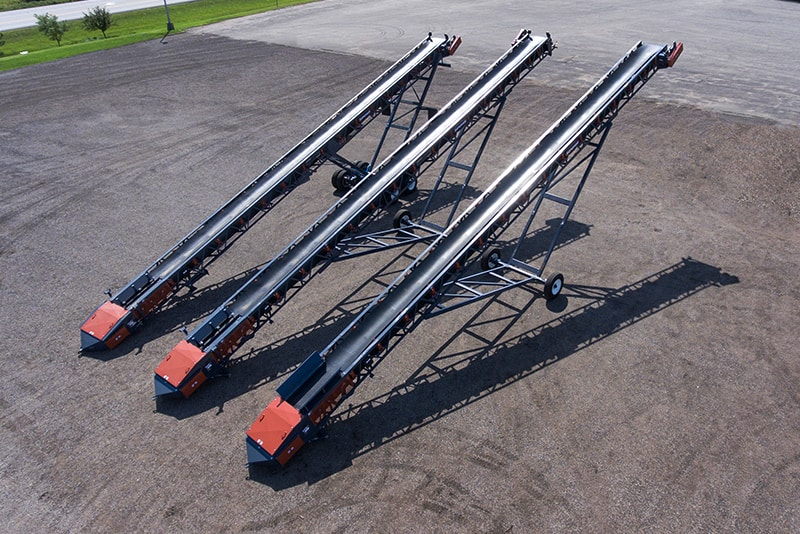 Three stacking conveyors in one load | Superior Industries