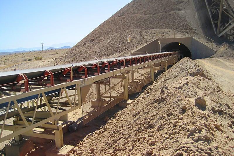 Tunnel Reclaim Conveyor | Superior Industries