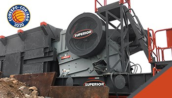 Superior Will Debut 11 New Jaw Crusher Models At CONEXPO-CON/AGG 2020