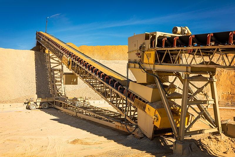 radial stacking conveyor 03 Geneva Rock UT_ Superior Industries