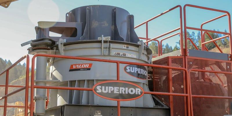 Valor Vertical Shaft Impactor (VSI) | Superior Industries