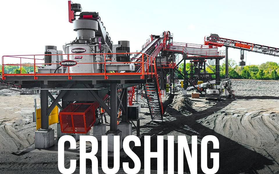Fusion Modular Platform - Crushing Applications | Superior Industries