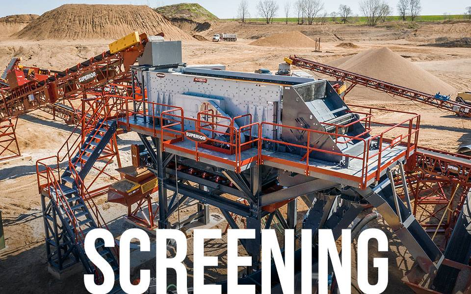 Fusion Modular Platform - Screening applications | Superior Industries