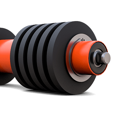 Disc Style Rubber Roll | Superior Industries