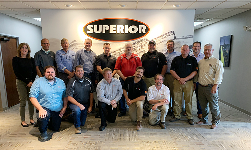 Superior and Rock Machinery group shot