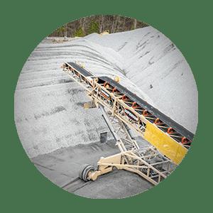 Esteiras transportadoras de empilhamento | Equipamentos para transporte de empilhamento | Superior Industries