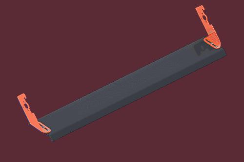 Proteção lateral única   Proteção do rolete de retorno   Superior Industries