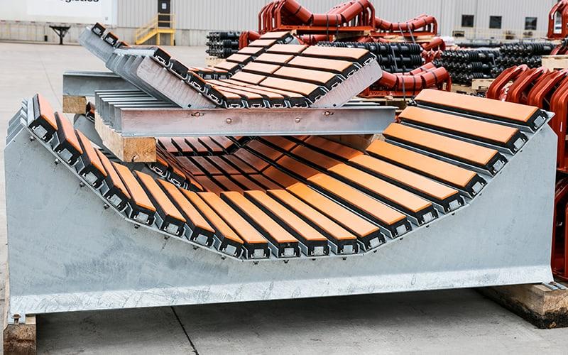 Bancada de impacto   Componentes da esteira transportadora Superior Industries