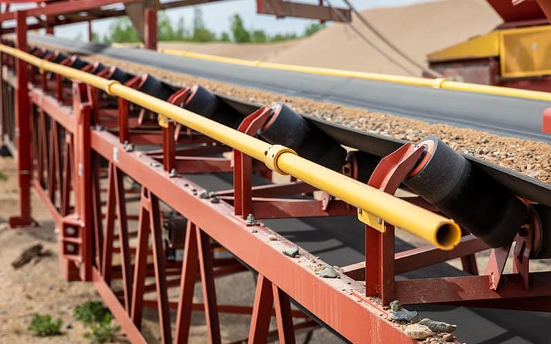 Corrimão de segurança da esteira transportadora | Superior Industries
