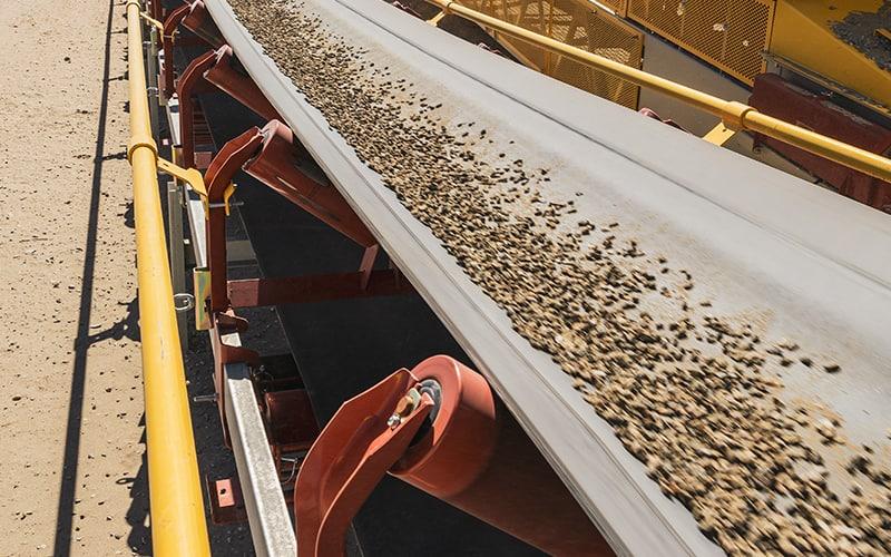 Prevenção de emaranhamento | Segurança da esteira transportadora | Superior Industries