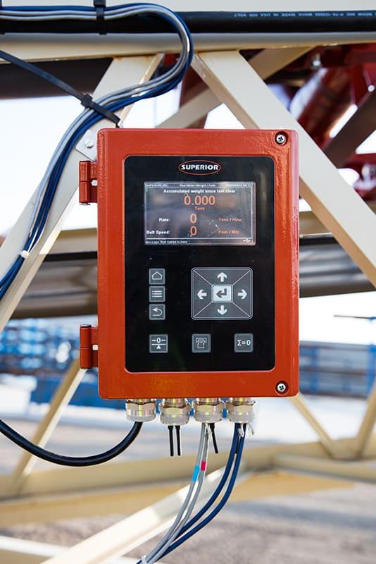 Belt Scale Display | Superior Industries
