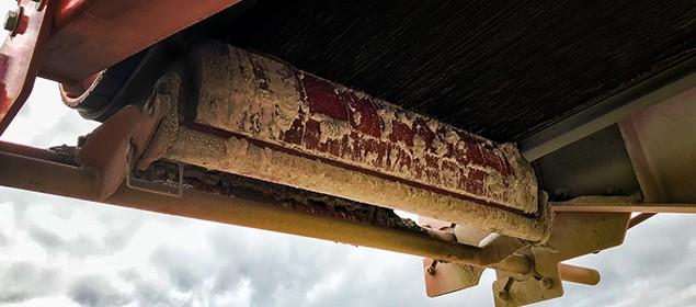 Raspador de correia para secundário agregado | Limpador de correia secundário Exterra® | Superior Industries