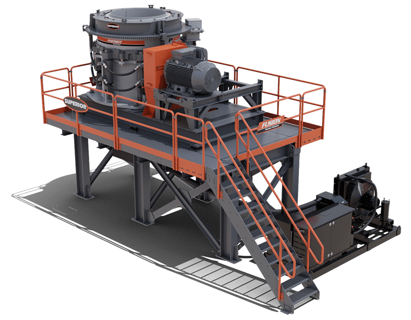 Fusion™ Platform P400 Patriot® Cone Crusher | Superior Industries