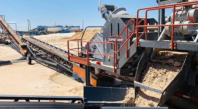 Portable Washing Plants | Superior Industries