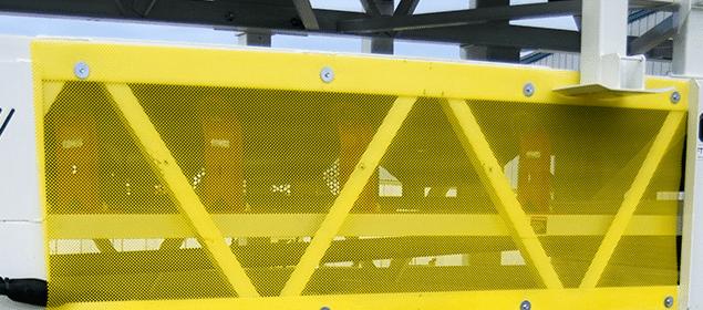 Painéis de proteção flexíveis | Segurança da esteira transportadora | Superior Industries