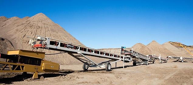 Slide-Stac Conveyor | Stockpile Conveyor | Superior Industries