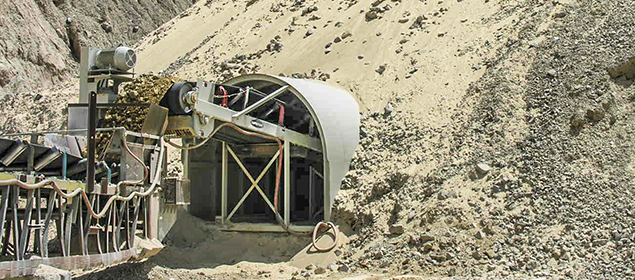 Tunnel Reclaim Conveyor | Feed Conveyor | Superior Industries