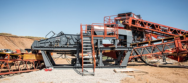 Alliance Low Water Washer | Aggregate Washing Equipment | Superior Industries