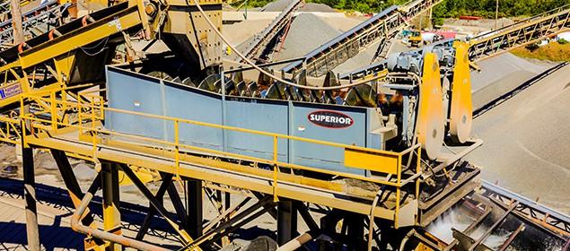 Blade Mill Washer   Scrubbing Equipment   Superior Industries