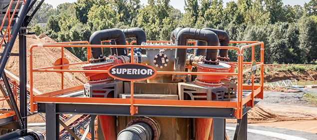 Helix Cyclone | Classifying Equipment | Superior Industries