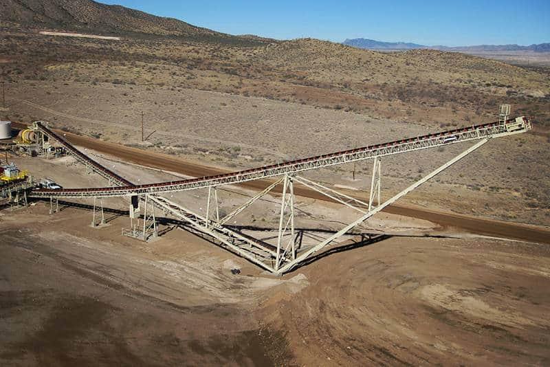 Stationary Stacking Conveyor in Arizona
