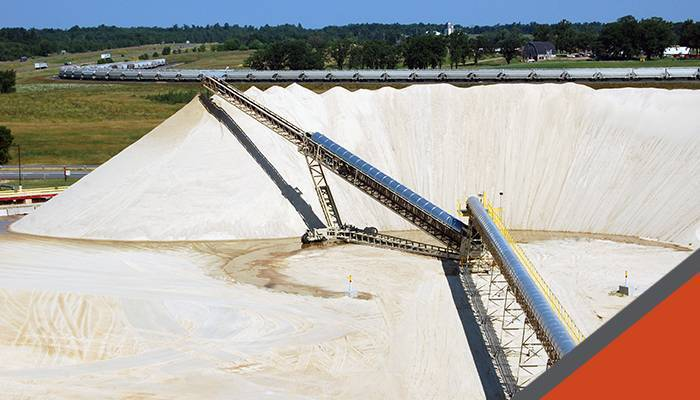 NRG Argentina Selects Superior Conveyors For New Frac Sand Plant