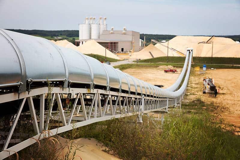 Hi-Crush - Blair, WI | Frac Sand Production | Superior Industries