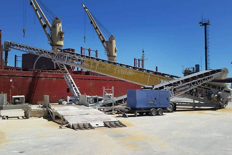 Ocean Terminals - Port of Montevideo (Uruguay)