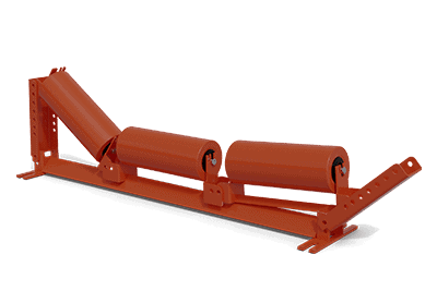 Rubber Variable Pitch Troughing Idler | Superior Industries