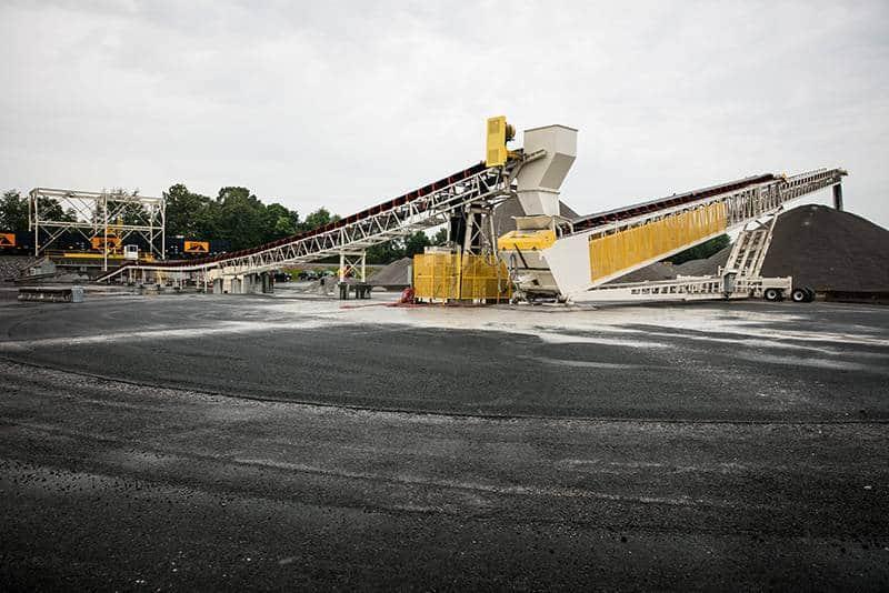 Scotty's Asphalt | Rail Loading | Superior Industries