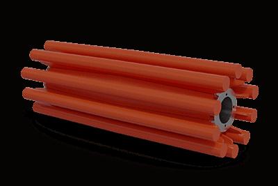Polia de barra redonda de aleta tradicional | Superior Industries