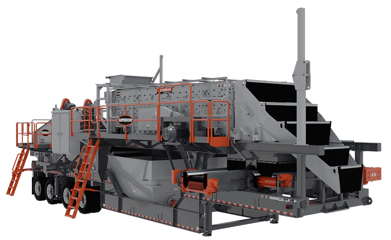 Portable Aggredry Dewatering Washer Plant_6203x36x25 render Superior Industries