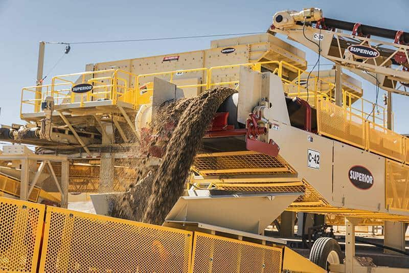 CM site Granite Construction CA 06 by Superior Industries