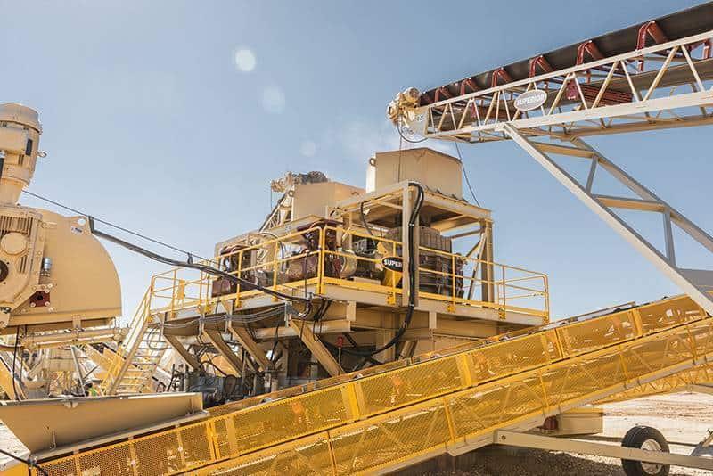 CM site Granite Construction CA 10 by Superior Industries