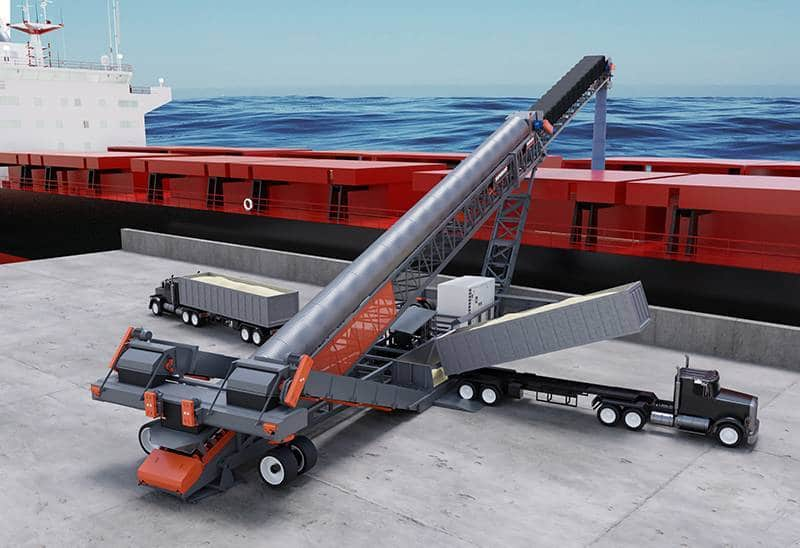 TSSL Side Unload model has tight footprint for small spaces.