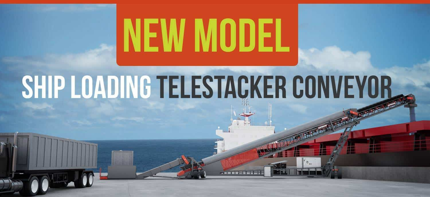 Superior Industries Reveals New All-In-One Mobile Ship Loading Conveyor