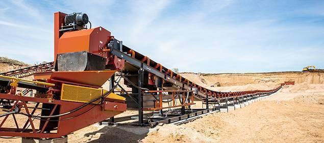 Zipline Conveyor | Overland Conveyors | Superior Industries